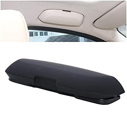 Gray SRXTZM for BMW 1 3 5 5GT X3 X4 X5 X6 F20 F21 F30 F31 F34 F07 F10 F11 F18 F01 F03 G11 Car Glasses Holder Case Sunglasses Storage Box Replace for Driver Side Overhead Grab Handle