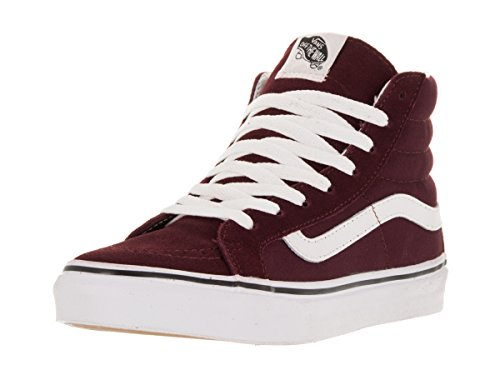 Vans Unisex Sk8-hi Slim Womens Pattino Da Skate Vino Windsor