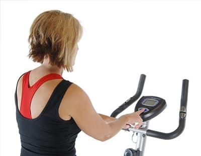 Stamina Magnetic Resistance Stationary Upright Exercise Bike