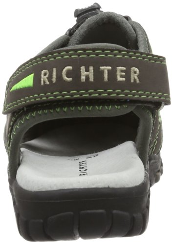Richter Kinderschuhe Extreme 8201-322-6701 - Sandalias para unisex-adulto, color azul, talla 28 Negro (Schwarz (black/rock 9901))