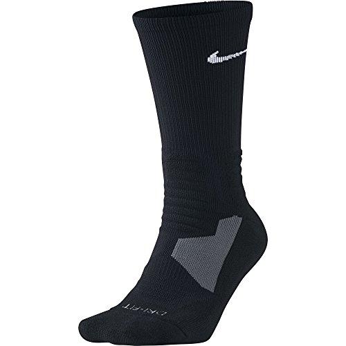 Nike Hyper Elite Crew Basketball Socks Black/White Size Small