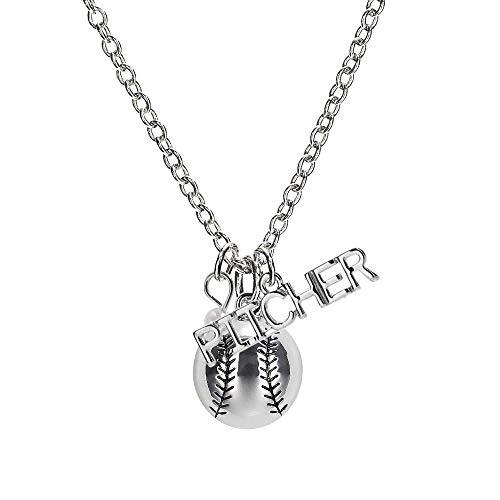 softball pitcher necklace - 4