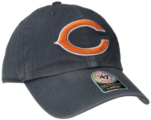 NFL Chicago Bears Franchise Fitted Hat, Navy, Small