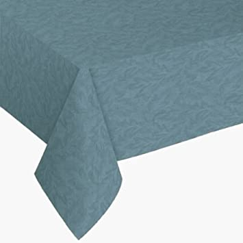 Sonoma Vinyl Tablecloth   60u0026quot; X 84u0026quot; Oval Slate