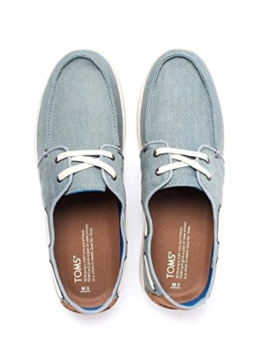 Toms Mens Culver Casual Scarpa Blu Denim