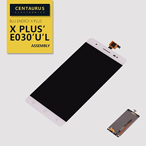 Assembly Touch Screen Digitizer LCD Display Lens for BLU Energy X Plus E030 E030U E030L White USA