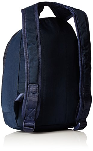 Oilily Damen Fun Nylon Backpack Svz Rucksack, Blau (Dark Blue), 15x31.5x23 cm