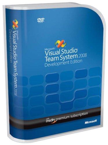 Microsoft Visual Studio Team System 2008 Development Edition Renewal