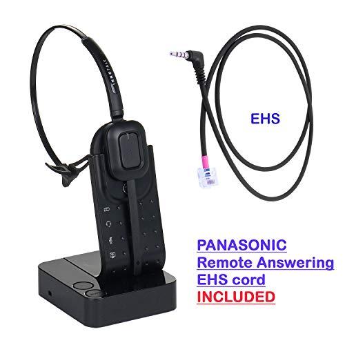 Wireless Headset Compatible with Panasonic KX-NT553, KX-NT556, KX-DT543, KX-DT546, KX-HDV230 Model