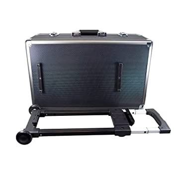 Image of Ape Case, Aluminum Hard Case, Carrying Case, Large XL, Foam inserts, Wheels included, TSA friendly lock loops (ACHC5650)