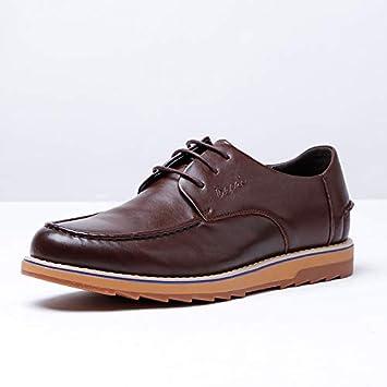 511b86fa0f7735 Easy Go Shopping Chaussures pour Hommes en Cuir Marque Chaussures pour  Hommes Chaussures en Cuir décontractées