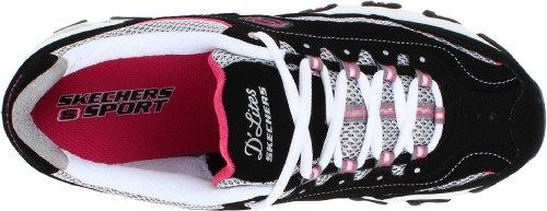 Rosa BKW de Negro mujer deporte Blanco Skechers Zapatillas 11422 para 5qPxtZWpwz