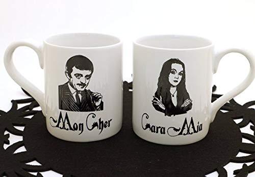 The Addams Family - Gomez and Morticia Mug -