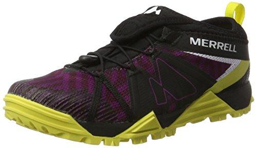 加害者グレートオーク子猫Womens Merrell Trail Runner Sneakers Avalaunch Shoes [並行輸入品]