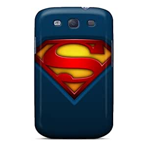 Durable Defender Case For Galaxy S3 Tpu Cover(superman)