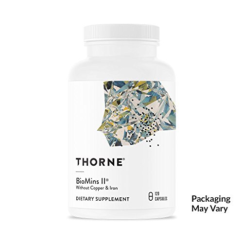 Thorne Research - BioMins II - Comprehensive Multi-Mineral Supplement Without Copper and Iron - 120 Capsules
