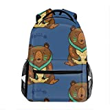 Best Everest Bookbags For Girls - Lightweight Indian Pattern of Bear in School Backpack Review