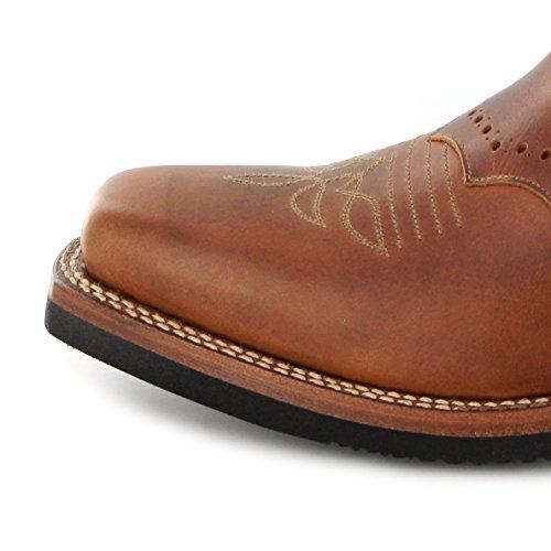 Tang Celeste Westernreitstiefel Braun Damen Stiefel 11594 Westernstiefel Tang Boots Sendra PSZw4q