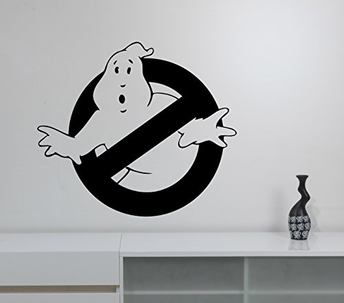Ghostbusters Logo Wall Decal Removable Vinyl Sticker Movie Art Decorations for Home Living Kids Room Bedroom Office Decor ghs1