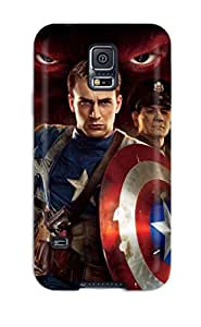 Premium 2011 Captain America First Avenger Cover Skin For Galaxy S5