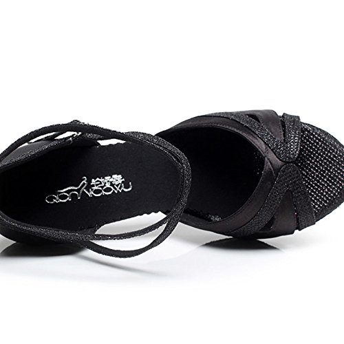 Femmes De Noir Chaussures Danse Tmkoo Latines 1HwaAvHq