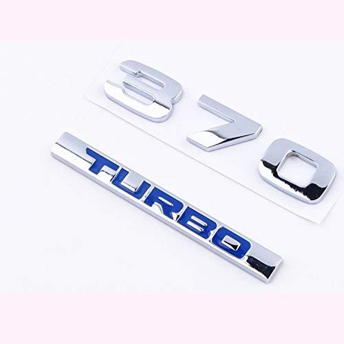 Lynn025Keats Turbo Car Logo Honda Crown Road 370 Turbo Car Tail Upgrade Word Mark: