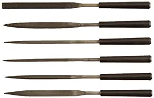 Stanley 22–316–5–1/2-inch Hobby–Juego de archivo, 6-Pack, Modelo: 22–316, Tools & hardware Store