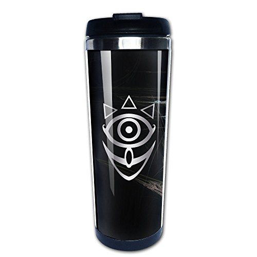 Stainless Steel Mask Of Truth Zelda Platinum Style Tumbler Coffee Mug