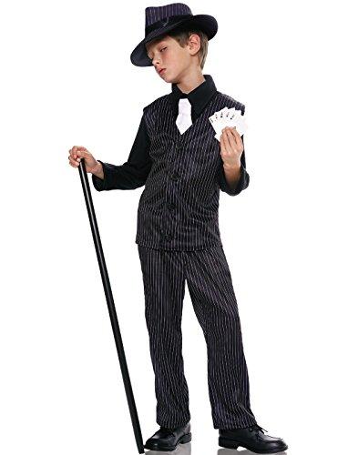 Kids Gangsta Boy Costume - Child Large