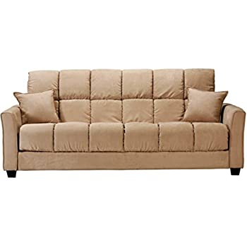 Baja Convert A Couch And Sofa Bed, Multiple Colors (Khaki)