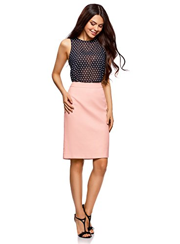 oodji Rose 4000n Droite Femme Collection Jupe Classique vq1wrvSH