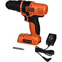 Black+Decker Ldx172C 7.2-Volt Lithium-Ion Drill/Driver Features