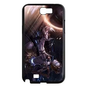 samsung n2 7100 phone case Black Orianna league of legends HGH7594673