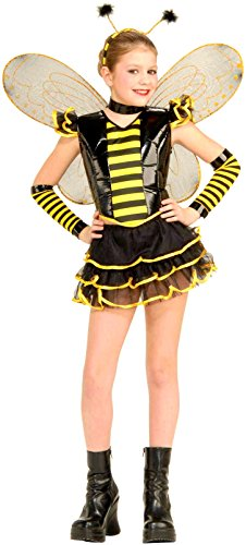 [Forum Novelties Queen Bee Costume, Small] (Plus Size Deluxe Bumblebee Costumes)