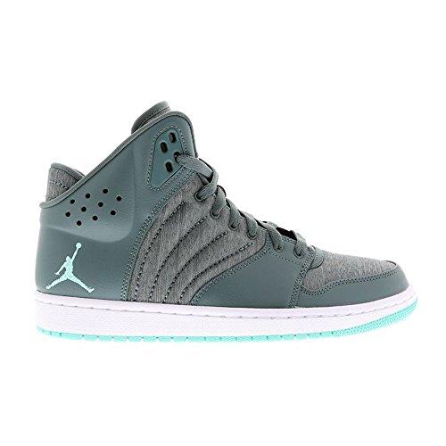 Nike Jordan 1 Flight 4, Zapatillas de Baloncesto para Hombre Gris