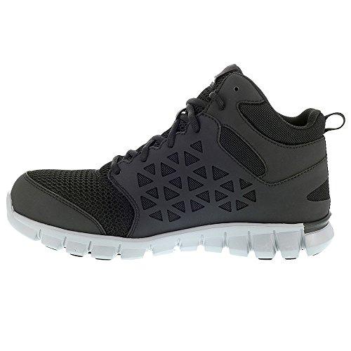 8 Work Shoe Men's Black Sublite Reebok Cushion xnfqIgqU