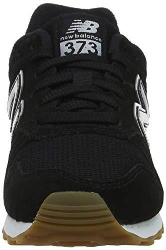 Basso Sneaker Nero black Btw 373 Donna New A white Balance Collo xSE7wcqX1