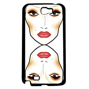 Makeup Face Chart Hard Snap on Phone Case (Note 2 II)