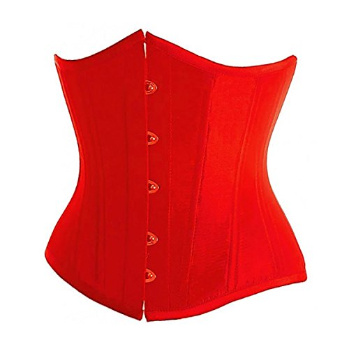 Valin FOB2686A Mujer Rojo Lencería y ropa interior Corsés y bustiers,L