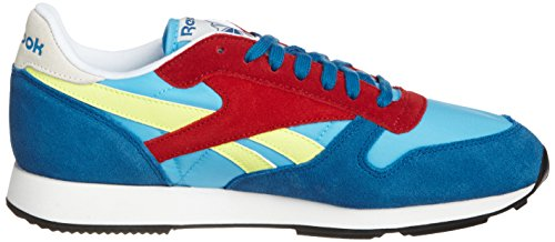 Reebok - Classic Sport Bluepersian - Couleur: Bleu-Jaune-Rouge - Pointure: 44.5