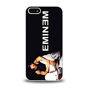 iPhone 5 5S case protective skin cover with American rapper Eminem cool design #8