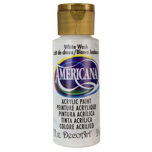 Americana Acrylic Paint 2 Ounces-White Wash