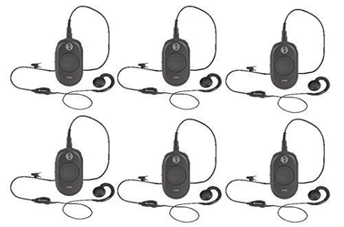 6 Pack of Motorola CLP1040 Two way Radio Walkie Talkies by Motorola