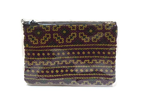 (1 PC) Handmade purse made of traditional thai frabic with naive design-38- one size thai product bag- -unique-Purse handmade handbag for men women girl-well made-frabic (Fendi Womens Embossed Handbag)