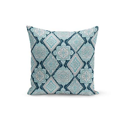 Athena Bacon Blue Pillowcase Cover Premier Prints Milan Oxford Ocean Pillowcase Covers Custom Zipper Closure