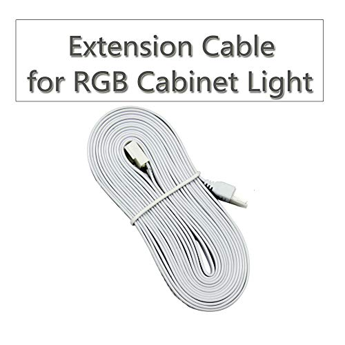 The Extension Cable is just for The RGB Under Cabinet Light, not for The RGBW Under Cabinet Light.