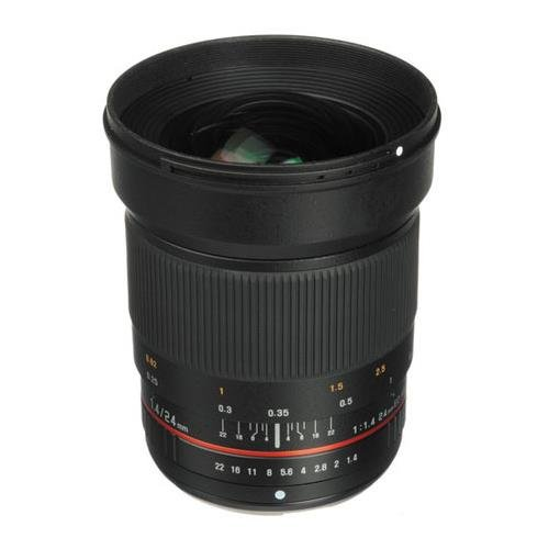 Bower SLY2414OD Wide-Angle 24mm f/1.4 Lens for Olympus 4/3 Digital Cameras by Bower Camera