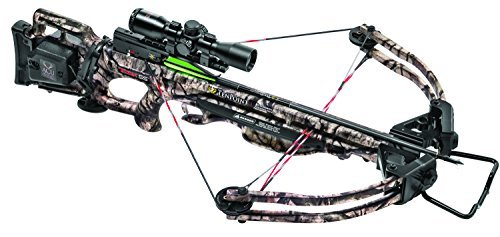 TenPoint Titan SS Crossbow Package with ACU Draw/Pro View Scope/Pro Elite Carbon Arrows & Quiver, 175 lb/Medium by ()