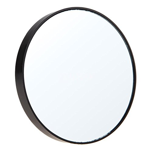 Merssavo 15X Magnification Round Makeup Mirror With Suction Cups