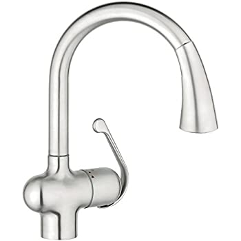 Grohe 33 755 Kd0 Ladylux Cafe Pull Out Kitchen Faucet